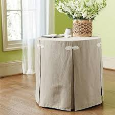 frog knot paneled beige tablecloth
