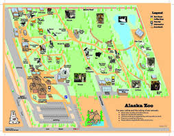 A Map Of Alaska by Zoo Map The Alaska Zoo Alaksa Pinterest Zoos And Alaska