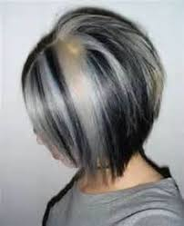 white hair with black lowlights ideas about white hair highlights pictures cute hairstyles for