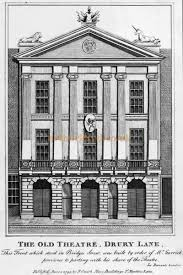 the theatre royal drury lane main entrance situated on catherine