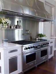 white kitchen cabinets with stainless steel backsplash 28 stainless steel metal backsplash ideas sebring design build
