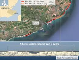 Dover England Map by White Cliffs Of Dover To Be Bought By National Trust Bbc News