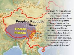Tibetan Plateau Map Sichuan U0027s Ethnic Corridor Go Take A Jump For God