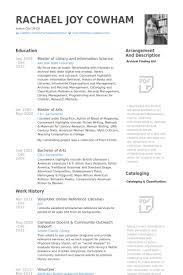 librarian resume template gfyork