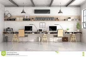 Engineering Office Furniture by Architecture Or Engineering Office In Industrial Style Stock