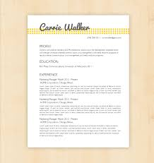 Amazing Resumes Examples Catchy Resume Templates Resume Template Pinterest Discover Free