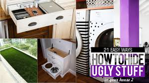 Organize Your House 21 Ways To Hide And Organize Things In Your House 2 Youtube