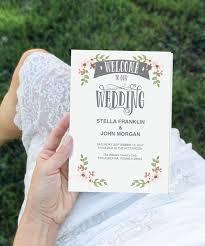 folded wedding program the 25 best wedding ceremony program template ideas on