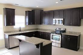 kitchen awesome l shaped kitchen decor with black wall and