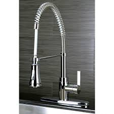 kingston brass kitchen faucets sink u0026 faucet wonderful bridge faucet with pull down sprayer