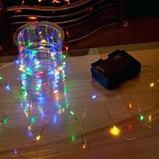battery operated christmas lights lowes battery christmas lights battery powered starfish string lights led
