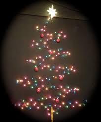 best 25 christmas tree on wall ideas on pinterest