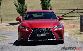 lexus sedan price australia 2016 lexus gs 200t f sport review video performancedrive
