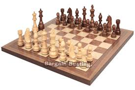 Diy Chess Set by Wooden Chess Board Ebay