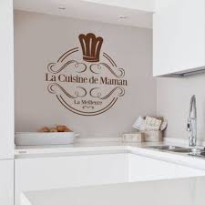 stikers cuisine stickers muraux cuisine sticker la cuisine de maman la meilleure