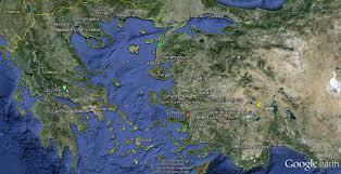 Delphi Greece Map by Turkey U0026 Greece Rainbowtour