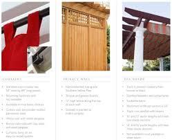 pergola curtains privacy panels and dia shade ohio hardwood