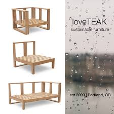 Milano Patio Furniture Loveteak Warehouse Sustainable Teak Patio Furniture