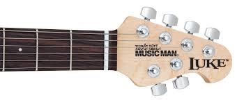 luke guitars ernie ball music man