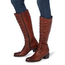 s flat boots sale uk the best seller stylish dune pixie d button detail leather knee