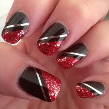 best 25 red black nails ideas on pinterest halloween nail art