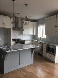 germantown nashville condo white cabinets gray island super