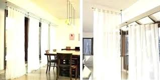 Hang Curtains From Ceiling Designs Ceiling Curtain Rod Oozn Co