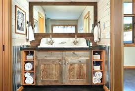 Bathroom Cabinets Wood Wood Bathroom Cabinet Reclaimed Wood Floating Vanity Wood Bathroom