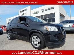 jeep chevrolet 2015 pre owned 2015 chevrolet trax ls sport utility in norman fb249263