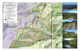 Mt Hood Trail Map Waucoma Backcountry Recreation Area Bark