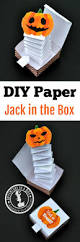 Printable Halloween Writing Paper by Jack In The Box Paper Toy With A Free Printable Template