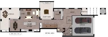 modern home design narrow lot enchanting narrow lot modern house plans including home designs