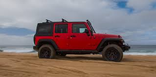 jeep wrangler beach hitting the beach in the 2017 jeep wrangler unlimited rubicon