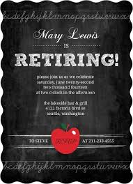 retirement invitations simple chalkboard retirement invitation retirement