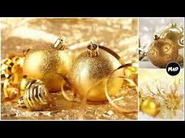 gold ornaments glass ornaments