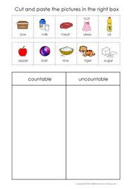 Countable And Uncountable Nouns Teaching Countable And Uncountable Nouns With Images To