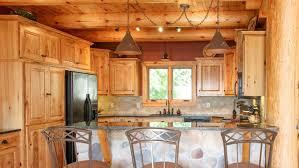 Log Home Kitchen Cabinets - kitchen room 2017 lake vermilion cabin kitchen franklin builders