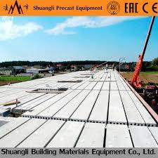 precast concrete roof slab making machine precast concrete roof