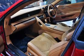 2017 lexus lc interior lexus lc 500 available in malaysia autoworld com my