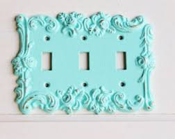 rocker light switch cover triple switch plate etsy