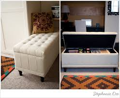 diy project storage bench file cabinet stephanie dee