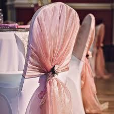 blush chair sashes chair sash for wedding mrsapo