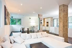 Wohnzimmer Und Schlafzimmer In Einem Einfamilienwohnhaus Weinheim U2013 Säulen Helwig Haus U0026 Raum
