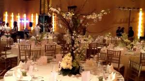 gala wedding reception decor youtube
