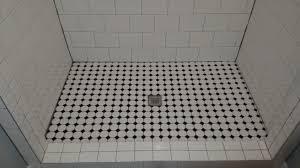 flooring tile ready showeroor pans drain installation basement