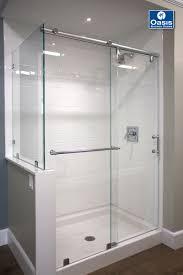shower door contractors frameless by pass u0026 sliding shower doors oasis shower doors