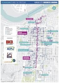 Austin Convention Center Map by Kansas City Streetcar Map Shows Where To Play Kansas City