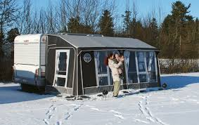 Isabella Caravan Awning Experience The Joy Of Autumn And Winter Close Up With An Isabella