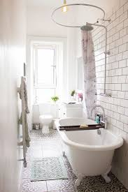 top 25 best clawfoot tub shower ideas on pinterest clawfoot tub 15 tiny bathrooms with major chic factor