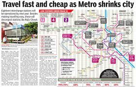 Blue Line Delhi Metro Map by Delhi Metro Page 831 Skyscrapercity
